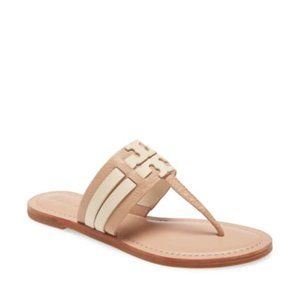 Tory Burch Leigh Flip Flop in Makeup NIB